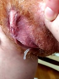 Hairy creampie, Hairy redhead, Creampies, Hairy redheads