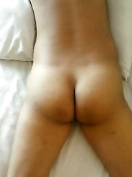 Bed, Asian ass
