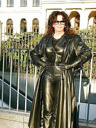 Leather, Sexy milf, Milf ass, Milf leather, Leather ass