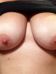 Tease, Wifes tits, Amateur wife, Hairy wife