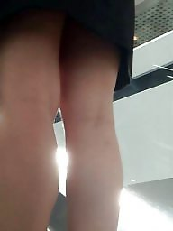 Turkish teen, Leggings, Legs, Upskirt voyeur