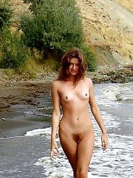 Beach, Hairy redhead, Hairy beach