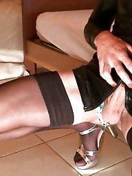 Heels, Bisexual, Nylon heels, Amateur nylon