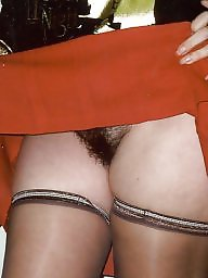 Retro, Hairy stockings, Stocking hairy, Vintage hairy, Hairy vintage