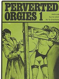 Orgy, Vintage bdsm, Magazine, Pervert, Vintage hairy, Magazines