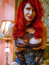 Redhead, Lace, Blue, Celebrity, Redheads