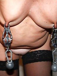 Slave, Mature bdsm, Torture, Slaves, Tit torture, Mature slave