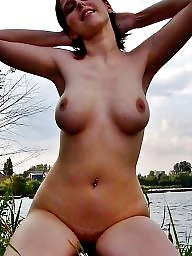 German, Cute, Body, Outdoors, Private, German amateur