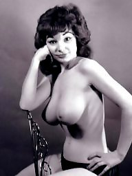 Lady, Stocking, Vintage amateur