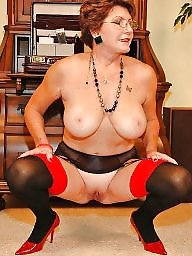 Mature stockings, Stocking mature, Big mature