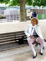 Flashing, Blonde mature, Mature blonde, Mature flashing, Mature flash, Blonde milf