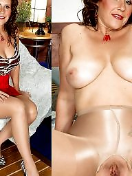 Nude, Clothes, Clothed, Milf nude