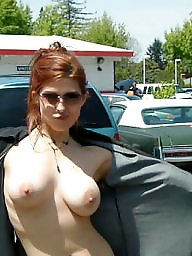 Party, Street, Huge, Public flashing, Parties