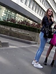 Teen voyeur, Amateur teen ass