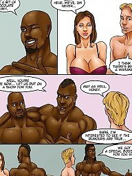 Comics, Comic, Bbc, Interracial comic