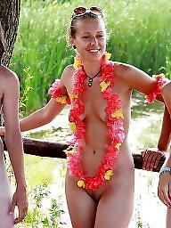 Candid, Nudes, Nude beach
