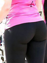 Yoga, Pants, Yoga pants, Big ass milf, Pant, Big asses