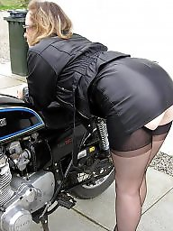 Leather, Skirt, Tight, Tights, Ladies