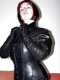 Latex, Leather, Pvc, Amateur milf, Milf in leather