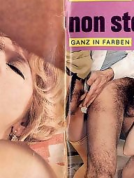 Blowjob, Magazine, Vintage hairy, Hairy vintage, Vintage sex
