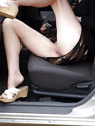 Car, Flashing, Cars, Mature flashing, Flashing mature, Wife mature