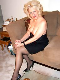Older, Tease, Mature stocking, Teasing, Stockings tease, Older mature