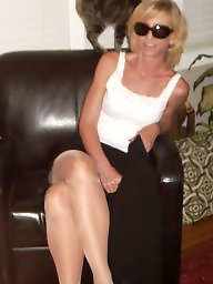 Mature stocking, Milf stocking