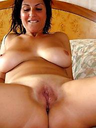 Busty milf, Brunette, Body