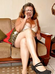 Granny, Old granny, Granny stockings, Mature stockings, Stocking, Old mature