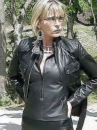 Latex, Boots, Pvc, Leather, Mature leather, Mature boots