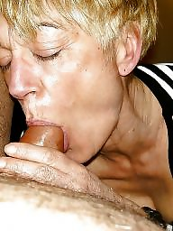 Blowjob, Mature blowjob, Mature blonde