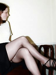 Pantyhose, Wife, Tights, Tight, Sandals, Amateur pantyhose