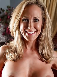 Blonde milf, Brandi love