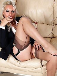 Smoking, Heels, High heels, Fetish, Stocking, Smoke