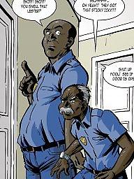 Interracial cartoons, Interracial cartoon, Sex cartoons, Group cartoon, Cartoon interracial, Police
