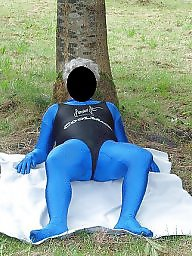 Spandex, Outdoor, Outdoor mature, Mature outdoors, Mature public, Mature outdoor