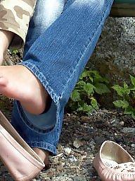 Feet, Mature feet, Nylons, Nylon feet, Nylon mature, Mature nylon