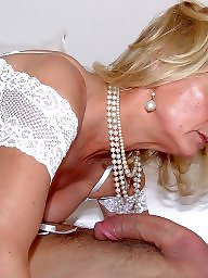 Facial, Satin, Stockings, Mature facial, Night