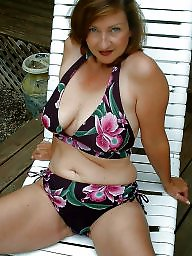 Mature bikini, Bikini, Downblouse, Mature dress, Dress, Matures