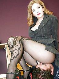 Stockings, High heels, Heels