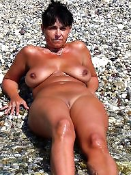 Beach, Mature beach, Beach milf, Beach mature