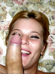 Milf blowjob, Hot blonde