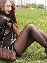 Stocking, Russian, Teen girls, Russian teen