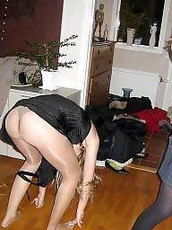 Pantyhose, Up skirt, Skirt, Amateur pantyhose