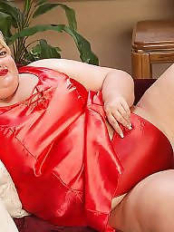 Bbw, Lingerie, Mature lingerie, Bbw lingerie, Red