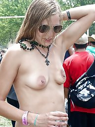 Big tits, Puffy, Small tits, Puffy nipples, Small, Perky tits