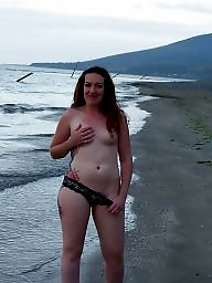 Mature beach, Bunny, Mature tits, Beach mature