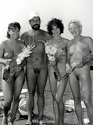 Vintage amateur, Vintage, Vintage amateurs, Amateur public, Public beach, Beach amateur