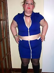 Dress, Flashing, Dressed, Bbw dressed, Dressed bbw, Blue