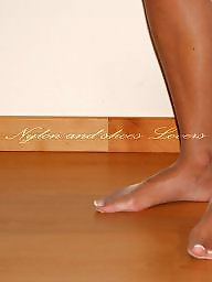 Nylon feet, Nylons, Feet nylon, Stocking feet, Amateur nylon, Amateur stockings